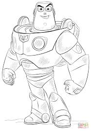 free printable buzz lightyear coloring pages for kids in