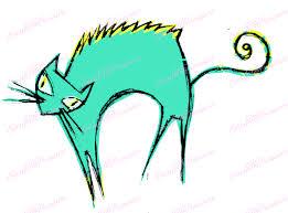 halloween jpeg digital download clipart u2013 scary cat halloween jpeg and png files