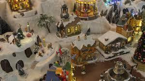 decorative christmas toys carousels houses small christmas trees