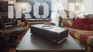 Living Room Bluetooth Speakers Creative Iroar Bluetooth Speaker Review Youtube