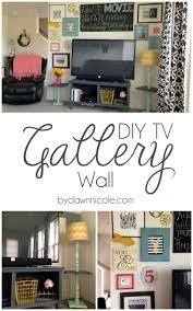 Tv Walls by Best 25 Tv Gallery Walls Ideas On Pinterest Decorating Around
