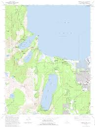 Virginia City Nevada Map by Topographic Maps Of Lake Tahoe Area