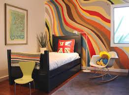 Swing Chair Bedroom Baby Nursery Modern Kids Bedroom With Cool Furniture Boy Child