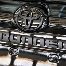 Toyota Tundra Interior Accessories Blackout Parts Pure 4runner Accessories Parts And Accessories
