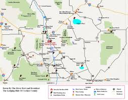 County Map Of Arizona by Southeast Arizona Things To Do Near Down By The River Bed And