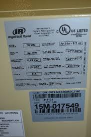 ingersoll rand 2545e10 vp 120 gallon air compressor w d72in air