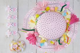 Easter Decorations Hobbycraft by How To Make An Easter Blooms Bonnet Hobbycraft Blog