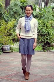 chambray sleeveless dress 14 shades of grey