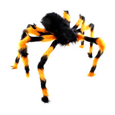 large scary bendable halloween hairy spider decoration party prop