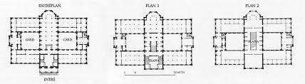 19th Century Floor Plans 19th Century Neo Renaissance Sweden Plan Nationalmuseum