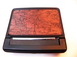 Old Map South America by Resolute Starworld Map Black Cigarette Case U0026 Roller Machine Old