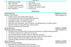 all resumes heavy equipment mechanic resume free resume cover