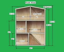 Free Plans How To Build A Wooden Shed by The 25 Best Doll House Plans Ideas On Pinterest Diy Dollhouse