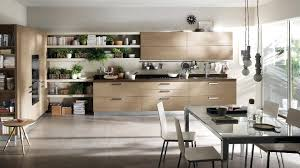 contemporary kitchen design for large spaces with indoor small