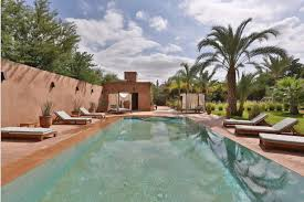 grand villa of vintage and modern decor with hammam and pool for