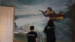 Amazing Wall Murals Amazing Harry Potter Wall Mural Video Dailymotion