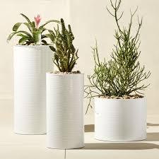 outdoor planters cb2