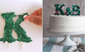 rustic monogram cake topper mongram cake toppers rustic floral cake magazine