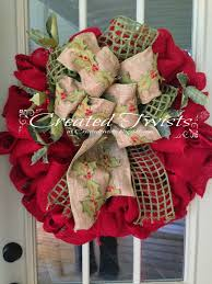 created twists christmas wreaths