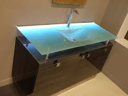 Glass Vanity Countertop Great Glass Vanity Sink Glass Bathroom Vanities Bathgems Dream