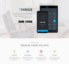 themes for mobile apps top 23 android ios app showcase wordpress themes web graphic