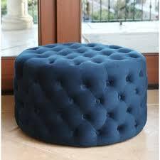 upholstered ottoman with shelf wayfair