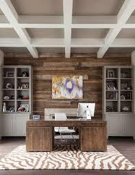 Home Office Wood Desk 25 Ingenious Ways To Bring Reclaimed Wood Into Your Home Office