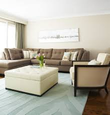 diy rustic living room ideas leather ottoman coffee table odern