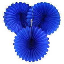royal blue tissue paper 5 royal blue tissue paper fan decorations pipii