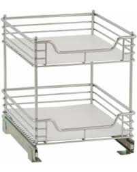 2 tier cabinet organizer new savings on 2 tier 14 5 inch glidez sliding under cabinet
