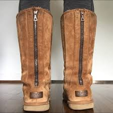 zipper ugg boots sale 78 ugg shoes caramel zip uggs from s closet on