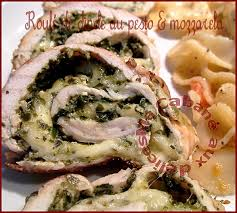 cuisiner escalope de dinde escalope de dinde roulée au pesto et mozzarella recettes faciles