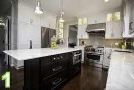 stylish transitional kitchen in naperville river oak cabinetry