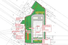 construction site plan elektro baustelleneinrichtung zeppelin streif baulogistik
