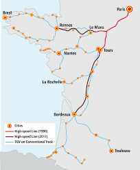 Map Of The Midwest French High Speed Extensions Offer Model For The Midwest Midwest