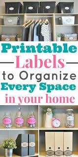 Kitchen Storage Labels - storage pantry organization labels amazing storage labels