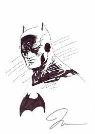 batman bust jim lee 2003 in comic art factory gallery u0027s jim lee