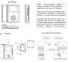 commax sistemas srl manual de instalacion para porteros visor cdv