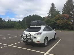lexus rx 450h bike rack what did you do to your third generation rx today page 17