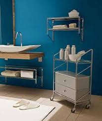 Blue Green Turquoise Bathroom Decor Space Saving Modern by Modern Bathroom Design Trends In Storage Furniture 15 Space