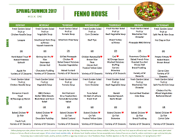 assisted living menu ideas sle menus fenno house
