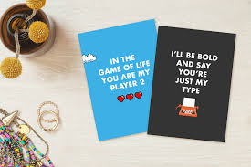 gamer valentines cards geeky and adorable s day cards for a science bored