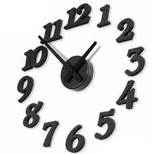 pendule cuisine horloge murale pour salon ou cuisine de 30 cm noir achat vente