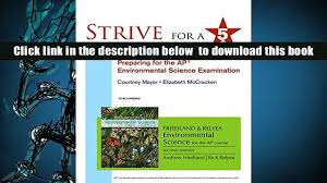 audiobook strive for 5 preparing for the ap environmental science