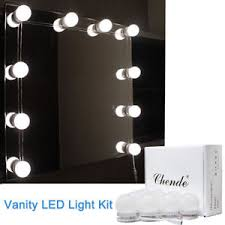 vanity led light mirror chende vanity led mirror light kit for makeup hollywood mirror with