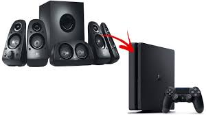 slim home theater receiver how to connect 5 1 pc speakers to ps4 youtube