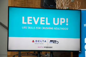 seattle ymca map seahawks delta air lines team up to host skills conference