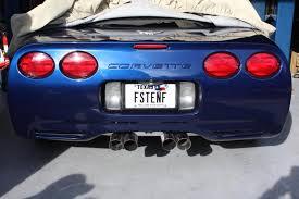 corvette vanity plates license plate names corvetteforum chevrolet corvette forum