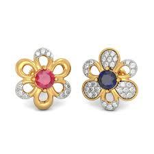 bluestone earrings the coral mismatch earrings bluestone