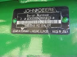 2009 john deere 568 round baler item f5504 sold wednesd